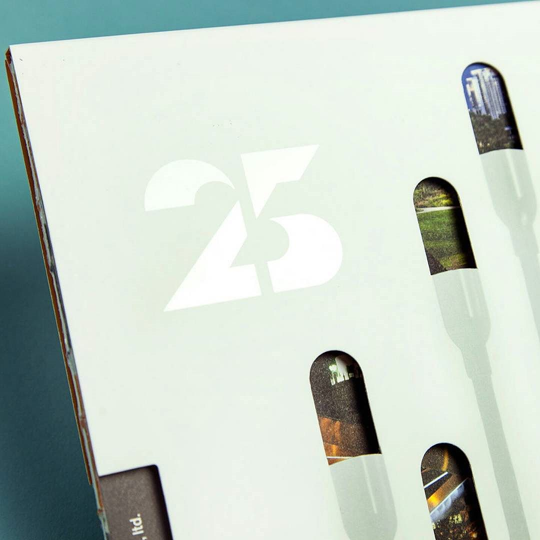 Thanks @ucllc for featuring our 25th Anniversary Book we designed for @sitedesigngroup on the FPO blog this week!