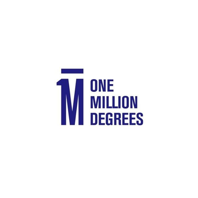 @onemilliondegrees came to us for help with a 10 year anniversary logo. Sometimes the solution is staring us right in the face. Congrats, OMD, on 10 years of empowering college students! . .
