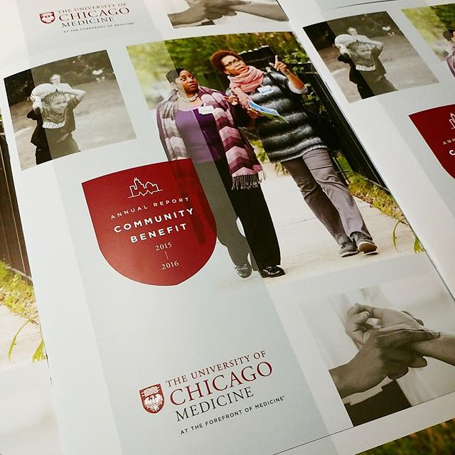 Fresh off the press! So proud to work with The University of Chicago Medicine. @uchicago - . . .