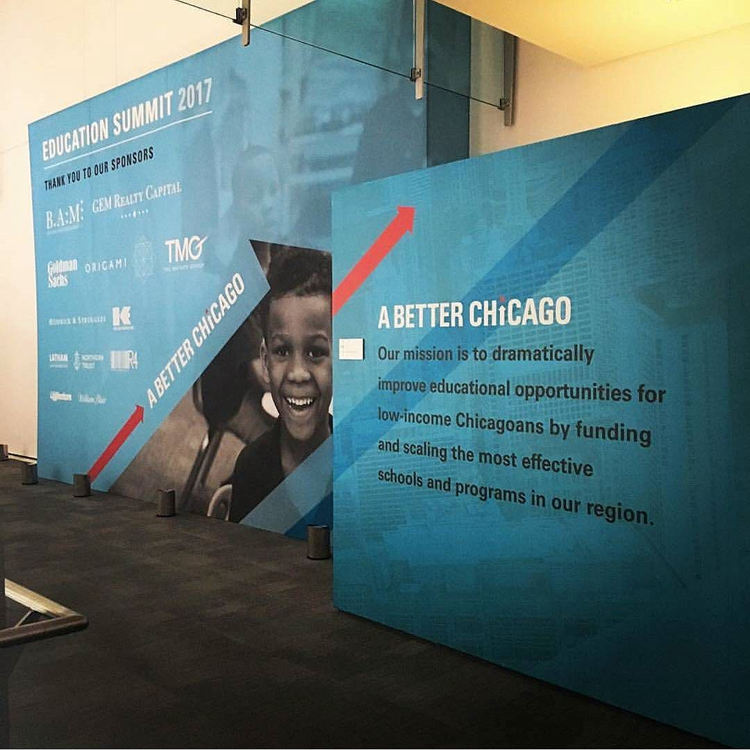 Inspiring day! Thanks @abetterchicago 📸: @daily_yogi