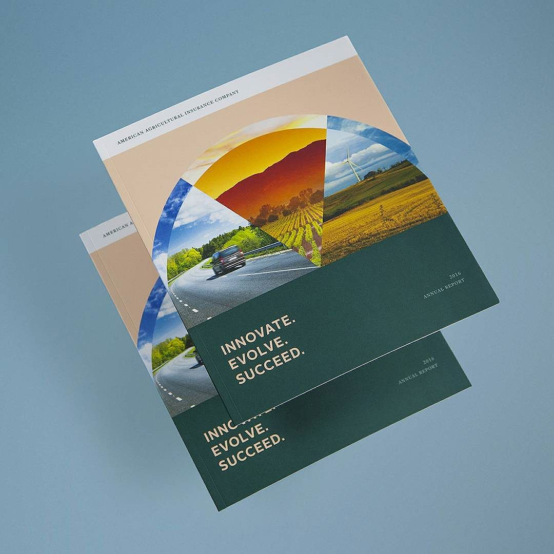 An annual report we did for American Agriculture Insurance Company earlier this summer inspired by their innovative approach to predictive analytics.
