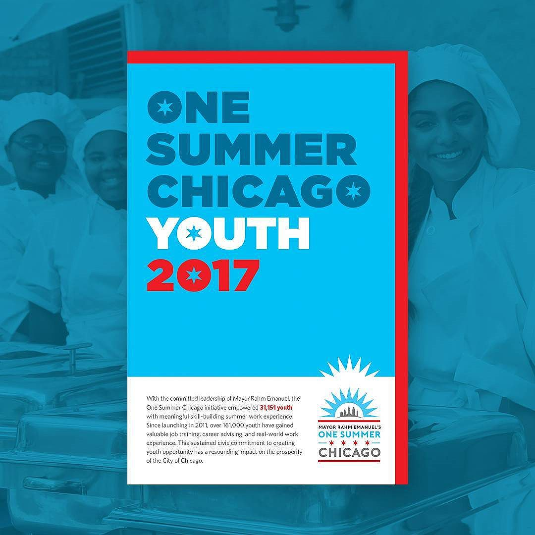 Congrats to over 31,000 Chicago youth who successfully completed @chicagosmayor #OneSummerChicago! Thanks to @mha_labs and for including us in this truly inspiring and uplifting project.