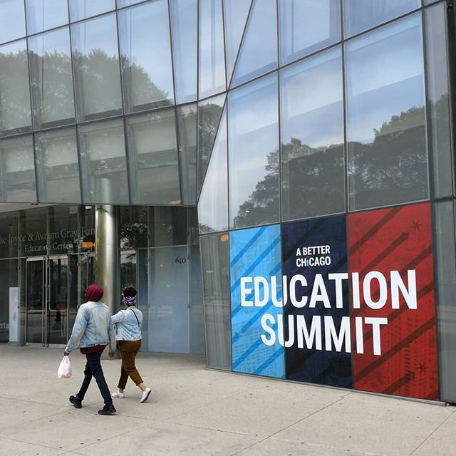 Proud to be part of another inspiring @abetterchicago Education Summit 🏙️