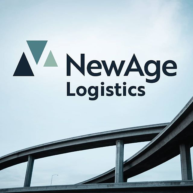 """A New Age of Logistics."" Rebrand for a 30-year-old, female-founded shipping and freight management company ? . ."